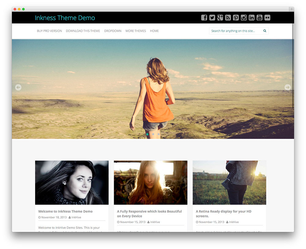 Best WordPress Responsive Themes Collection Of 2014 [ Part 2]