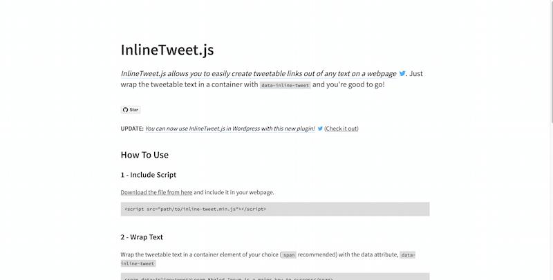 InlineTweet