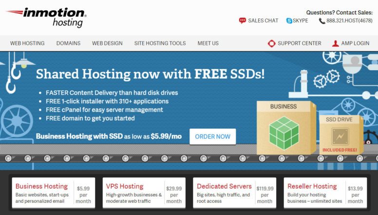 InmotionHosting Review
