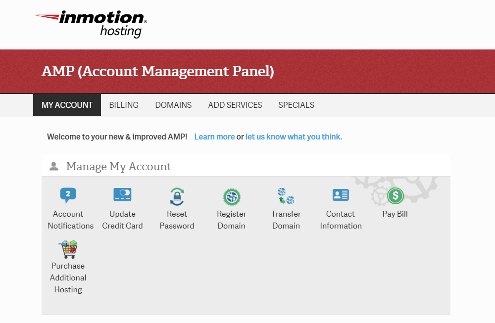 Inmotion Hosting Review AMP
