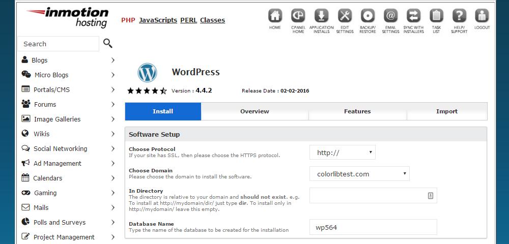 Inmotion Hosting Review WordPress