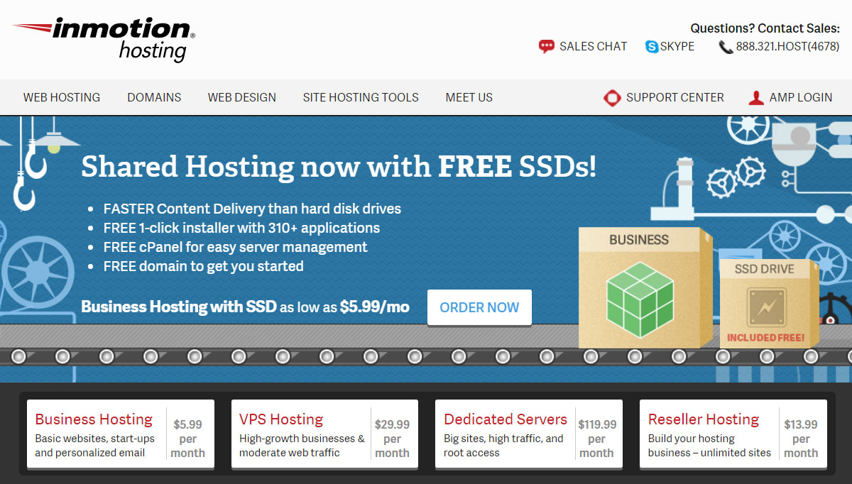 Inmotion Hosting Review: A Web Host For Every Website