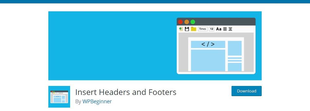 WordPress Footer Plugins - Insert Headers and Footers