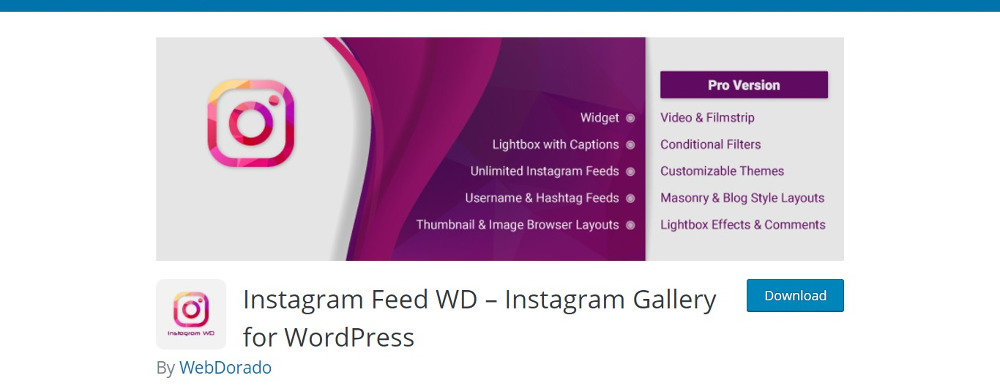 Top 20 WordPress Instagram Plugins 2019 - Colorlib