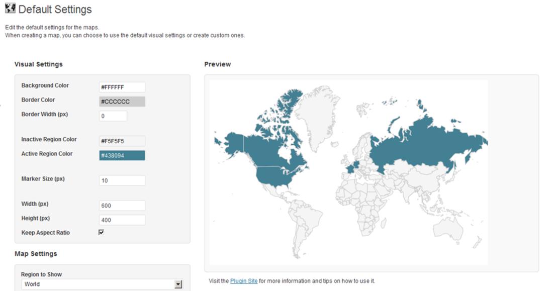Interactive World Maps 2