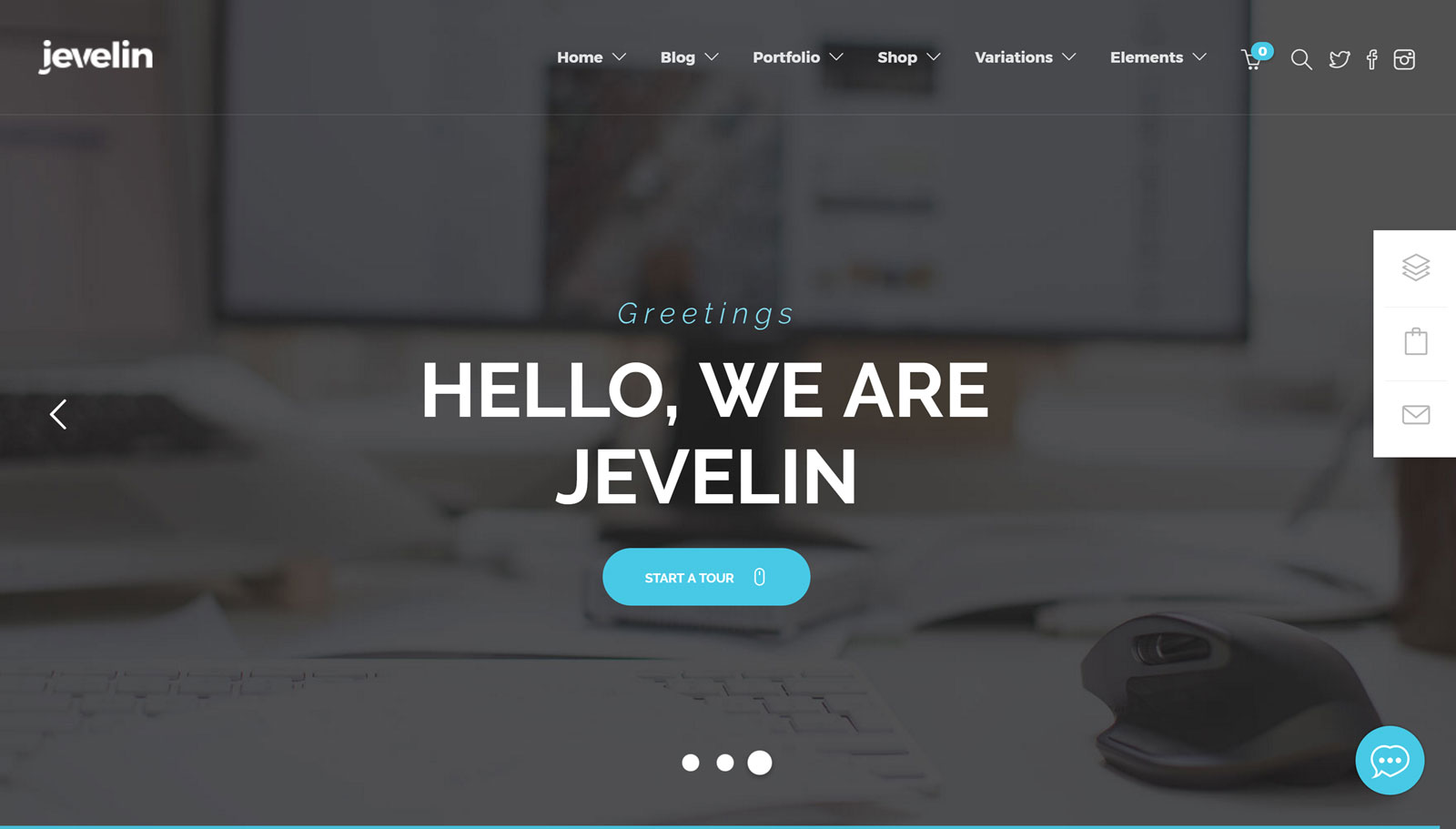 jevelin theme free download