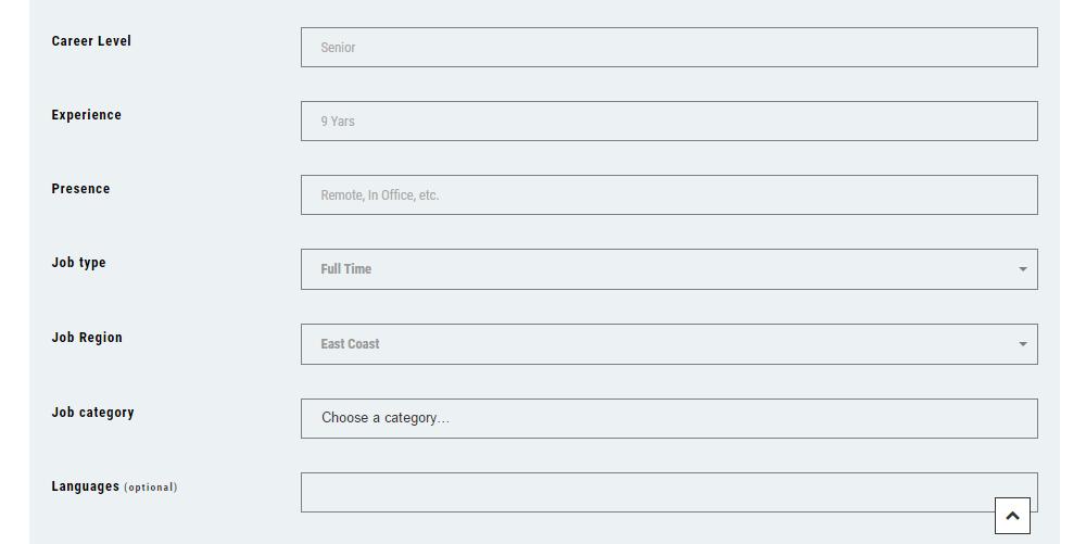 Jobs Dojo Theme Review Forms