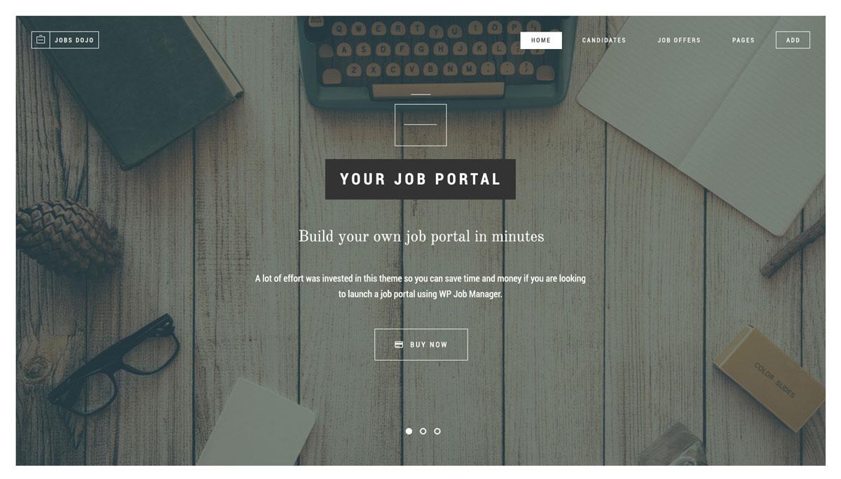 JobsDojo Theme Review: Build A Job Board Portal With WordPress