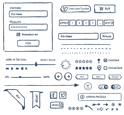 Top 15 Free Web Page Wireframe Kits for Web Designers