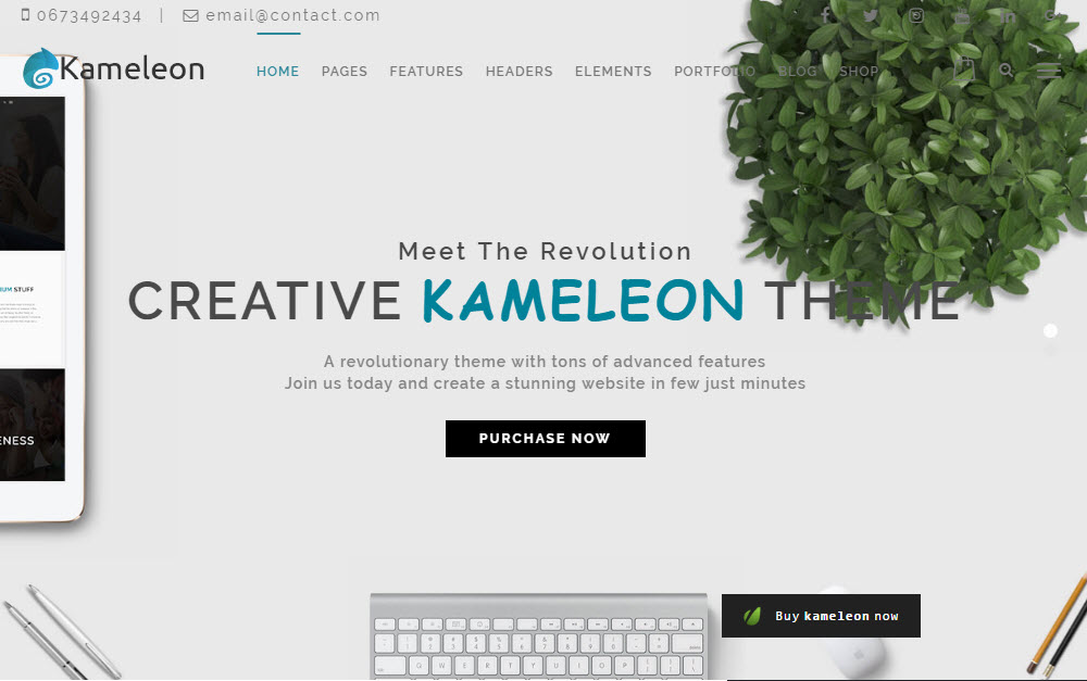 Kameleon Theme Demo 02