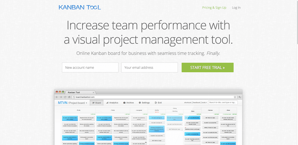 Kanban Tool Kanban Boards for Business Visual Management Software