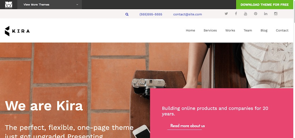 Kira Lite – Just another Macho Theme Demos site-min