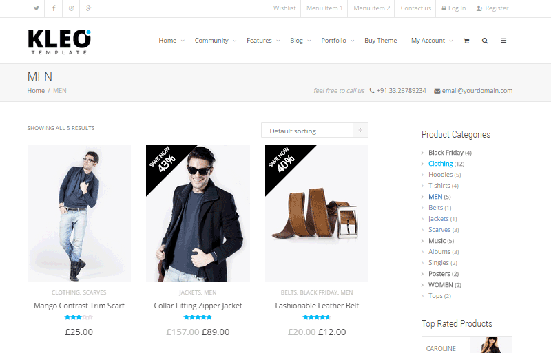 Kleo Online Shop