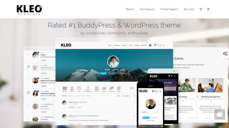 KLEO: A Multi-purpose WordPress Theme With WooCommerce And BuddyPress Support