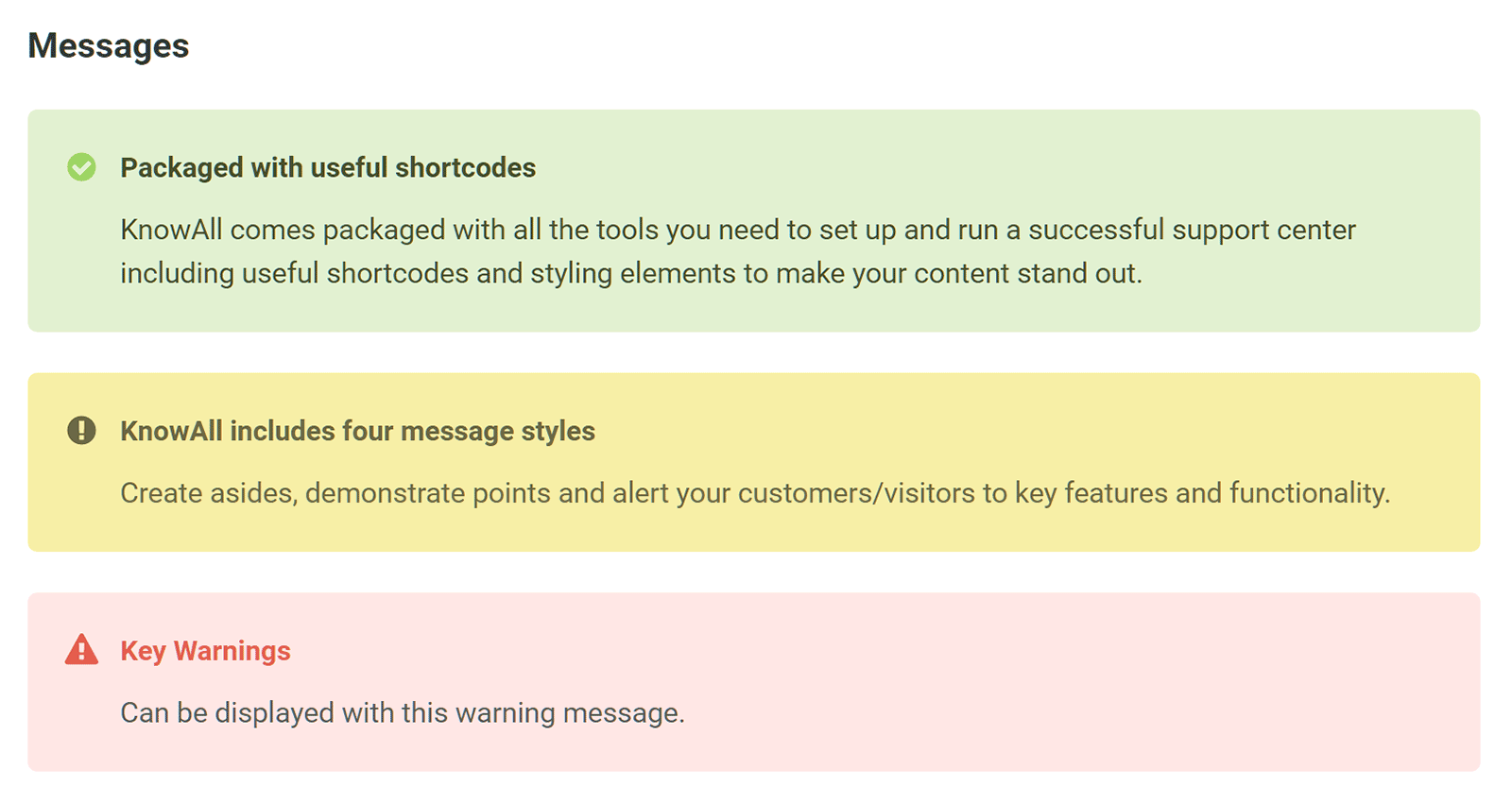KnowAll Alerts