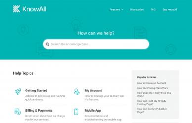KnowAll WordPress Theme Review