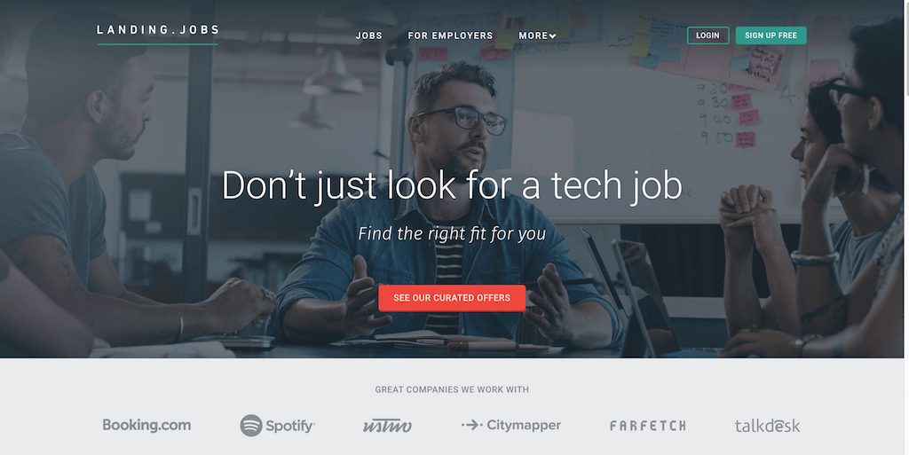 Landing.jobs — Europe s best tech jobs marketplace