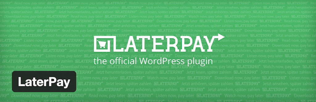 LaterPay — WordPress Plugins