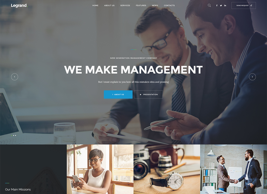 LeGrand | A Modern Multi-Purpose Business WordPress Theme