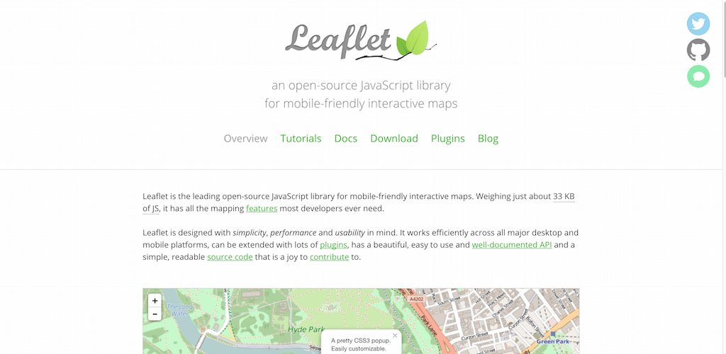 Leaflet a JavaScript library for interactive maps