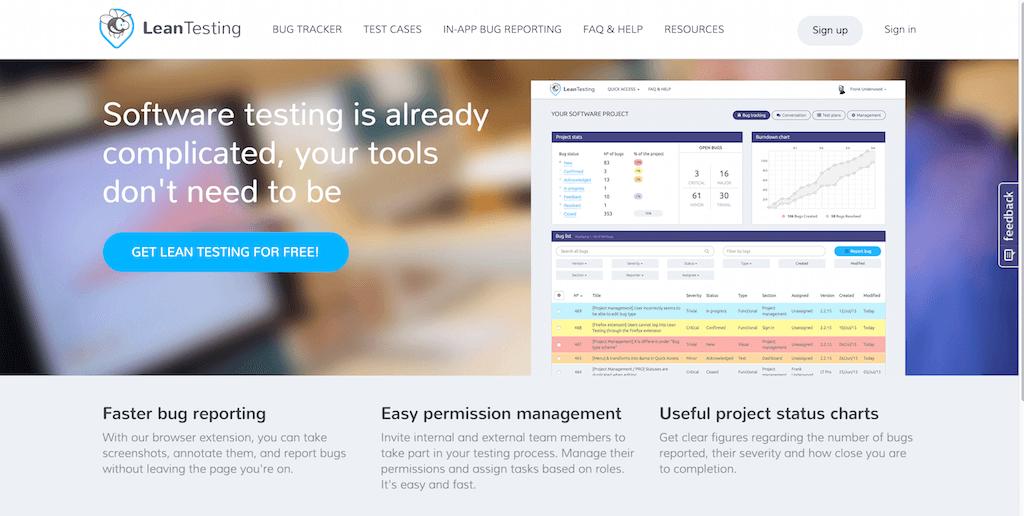Lean Testing