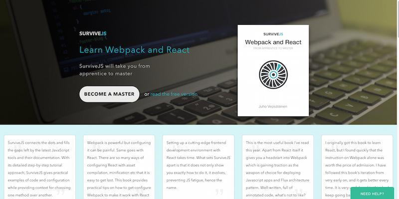 Learn Webpack and React