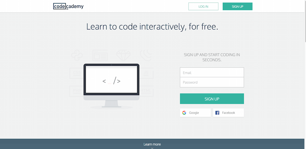 Learn to code Codecademy