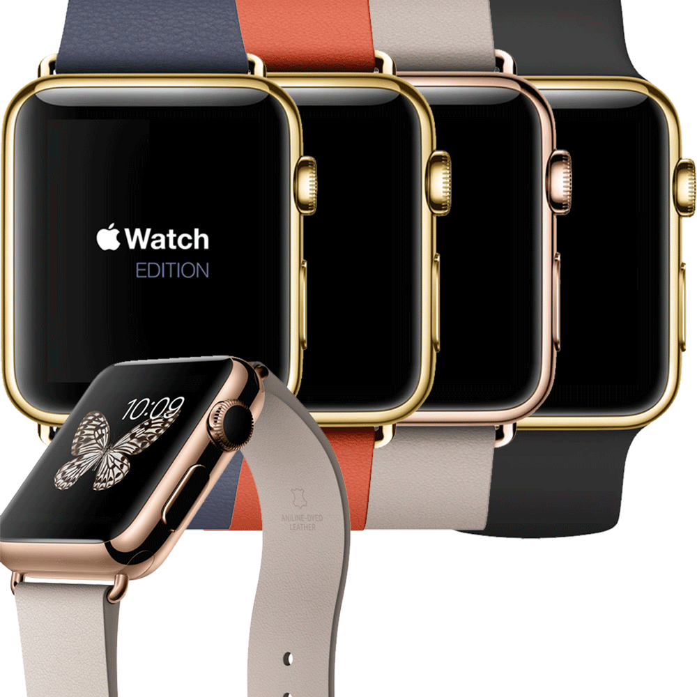 Free Apple Watch Leather Bracelet PSD