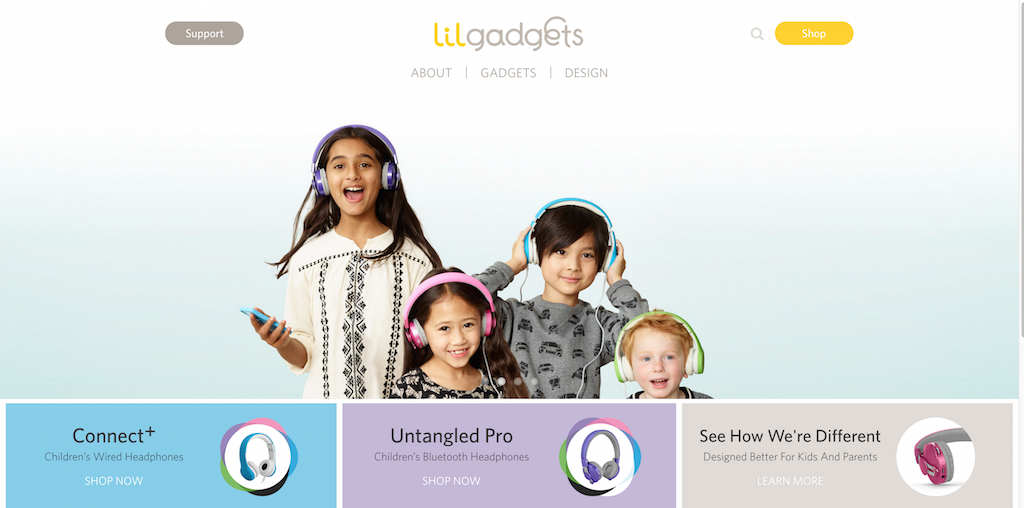 LilGadgets Headphones