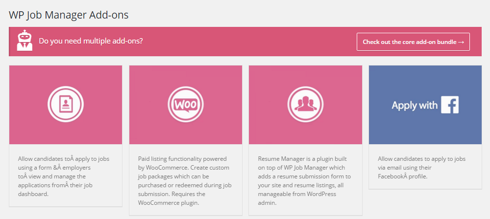 Listable Theme WP Job Manger Add-ons