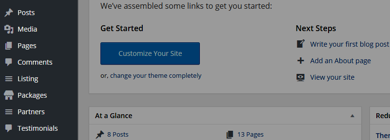 ListingBuilder Custom Post Types