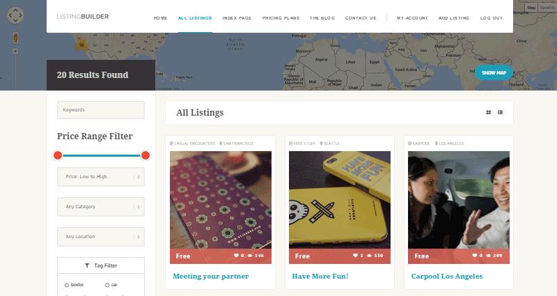 ListingBuilder Directory Theme