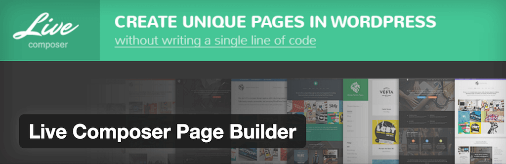 Live Composer Page Builder — WordPress Plugins