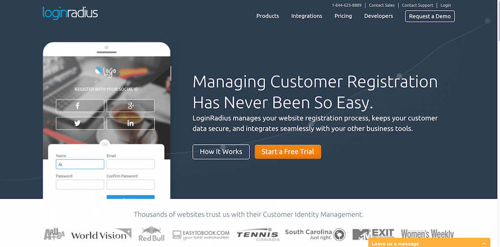 LoginRadius Leading Customer Identity Management Platform