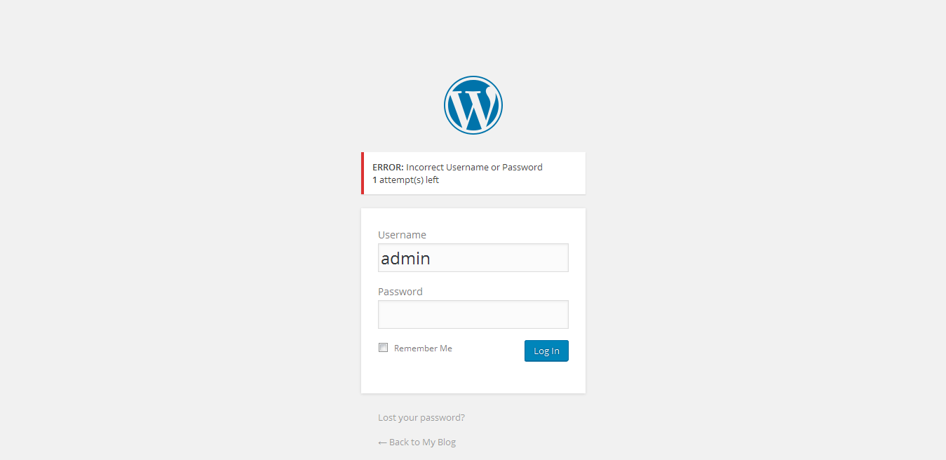 Secure your login page dashboard using this plugin!