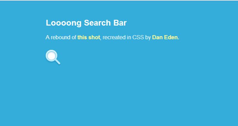 Loooong The Search Bar