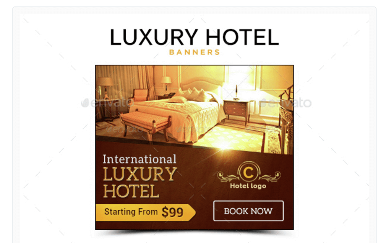 Luxury Banners for Hotel Promotions