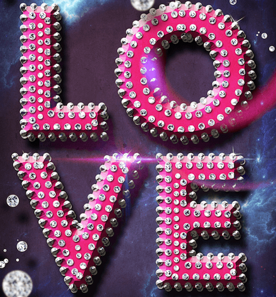 Luxury Text Style For Valentine Party Flyer Photoshop Tutorial