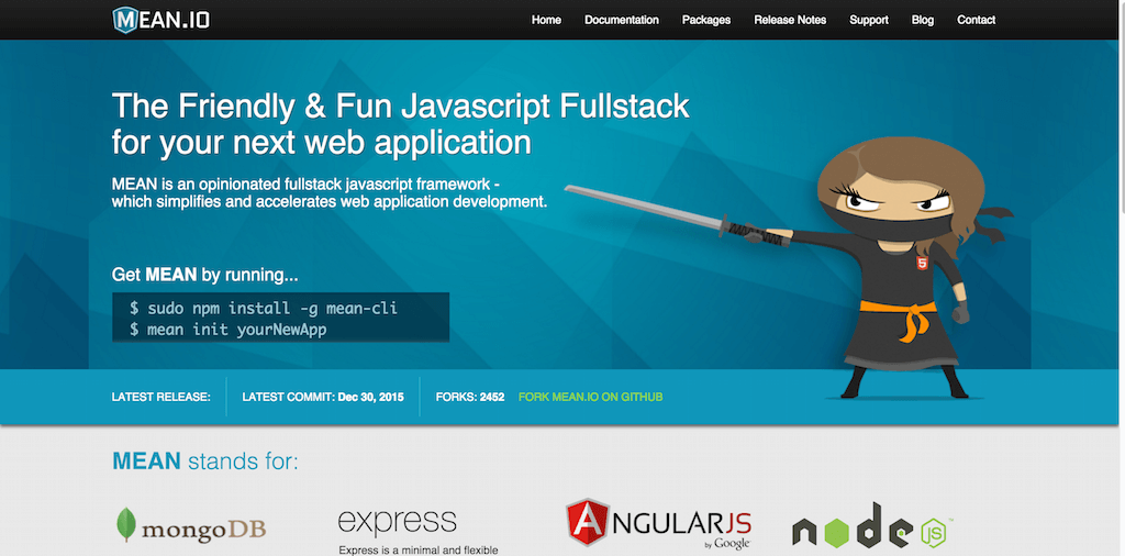 MEAN Full Stack JavaScript Using MongoDB Express AngularJS and Node.js.