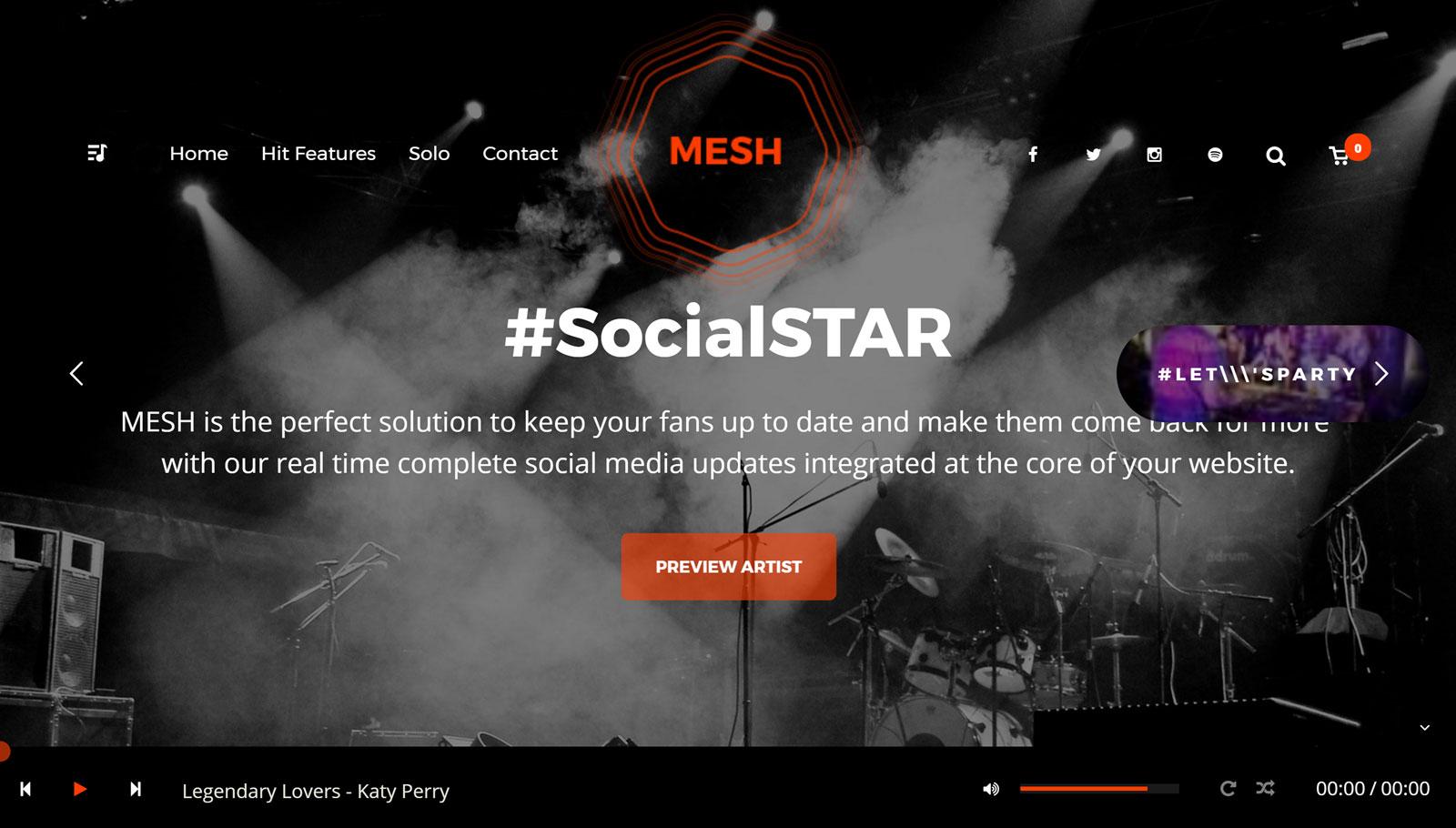MESH Theme Review