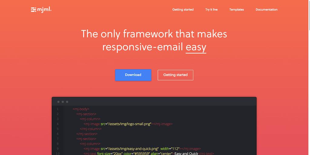 MJML The Responsive Email Framework