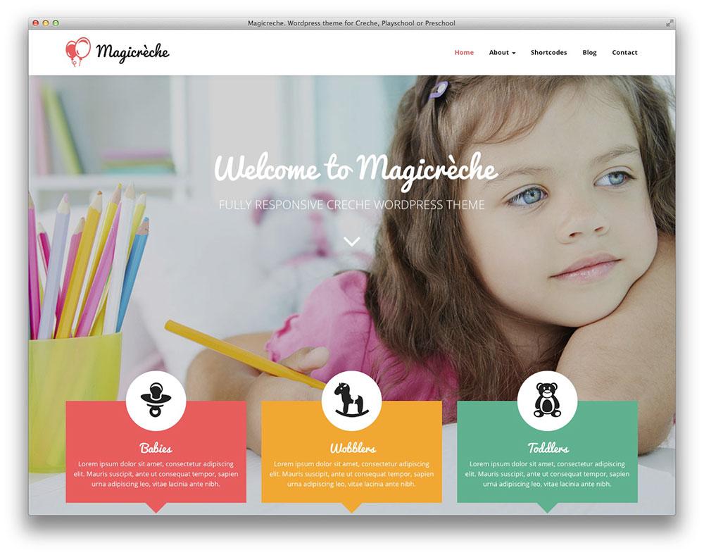 Magicreche school theme
