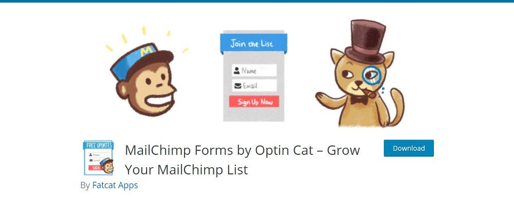 MailChimp Forms by OptinCat