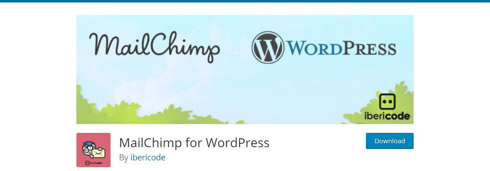 WordPress Plugins for MailChimp : MailChimp for WordPress