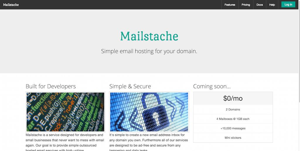 Mailstache