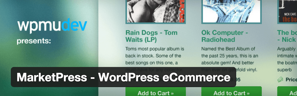 MarketPress WordPress eCommerce — WordPress Plugins
