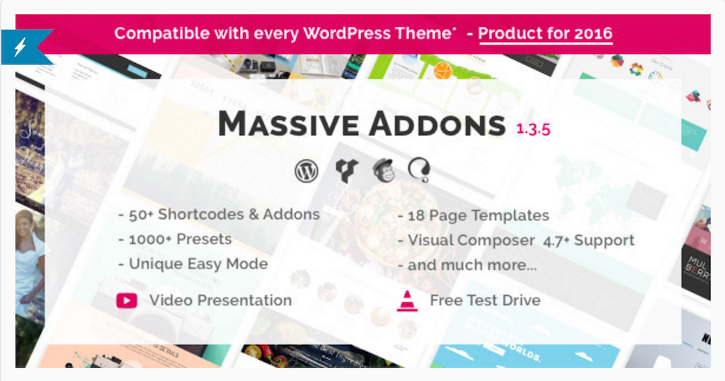 Massive Addons for WPBakery Page Builder WordPress