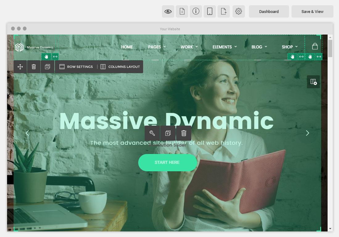 Massive Dynamic Theme Review: The Future Of WordPress?