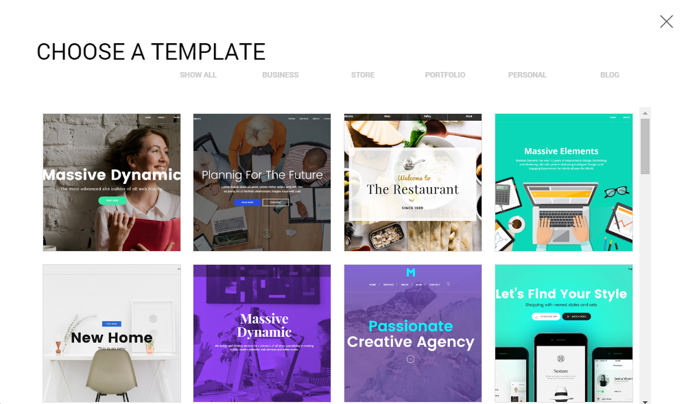 Massive Dynamic Review Templates
