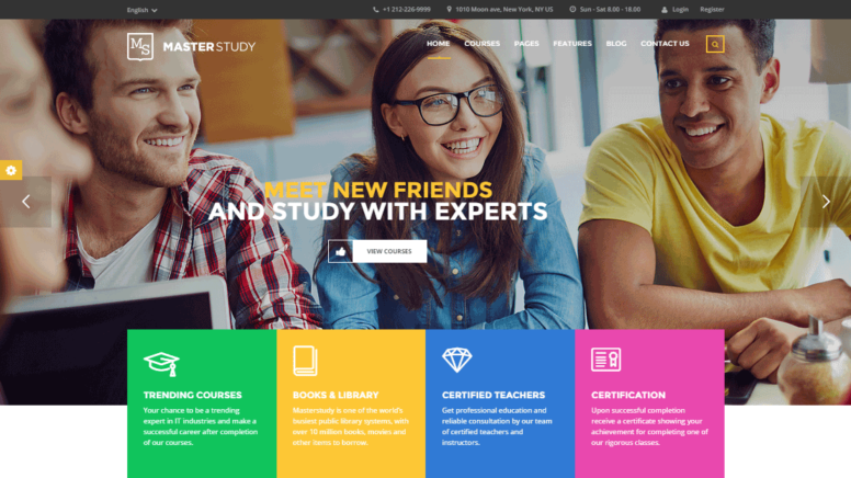 Masterstudy Theme Review: Promote Your Courses And Educational Services Online